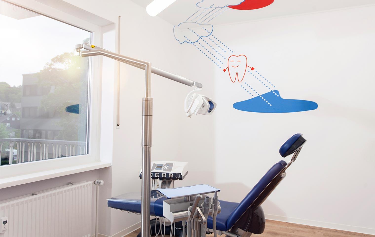 """Das Behandlungszimmer """"Zähne-Spülen"""""""